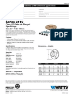 Series 3110 Specification Sheet