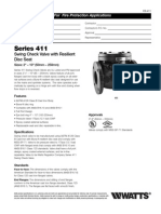 Series 411 Specification Sheet