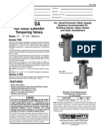 Series 70A Specification Sheet