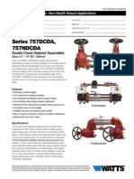 Series 757DCDA, 757NDCDA Specification Sheet
