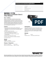 Series 777C Specification Sheet