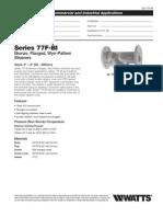 Series 77F-BI Specification Sheet