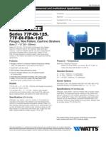 Series 77F-DI-125, 77F-DI-FDA-125 Specification Sheet