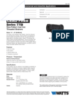 Series 77SI Specification Sheet