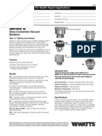 Series 8 Specification Sheet
