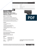 Series 87SI Specification Sheet