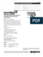 Series 88CSI Specification Sheet