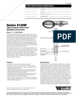 Series 912HP Specification Sheet