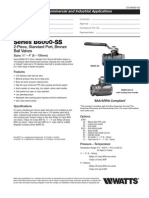 Series B6000-SS Specification Sheet