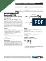 Series LFFHB Specification Sheet