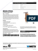 No. FP53L Specification Sheet