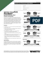 Series FS-CFC-S FloodSafe Specification Sheet