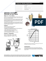 Series FV-4M1 Specification Sheet