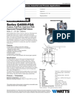 Series G4000-FDA Specification Sheet
