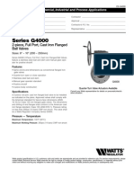 Series G4000 Specification Sheet