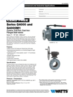 Series G4000M1 Specification Sheet