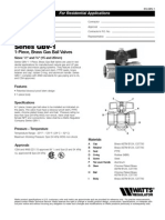 Series GBV-1 Specification Sheet