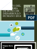 Bono Desarrollo Humano
