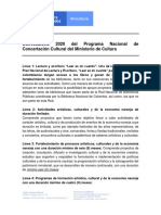 Líneas de La Convocatoria 2020 Concertación MinCultura-1