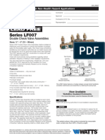 Series LF007 Specification Sheet