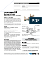 Series LF009 Specification Sheet