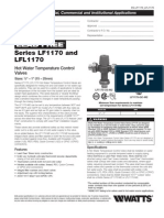Series LF1170 and LFL1170 Specification Sheet