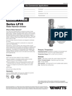 Series LF15 Specification Sheet