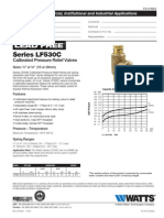 Series LF530C Specification Sheet