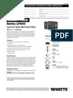 Series LF600 Specification Sheet