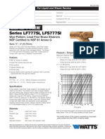Series LF777SI, LFS777SI Specification Sheet