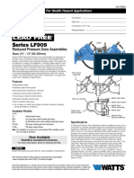 Series LF909 Specification Sheet