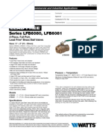 Series LFB6080, LFB6081 Specification Sheet