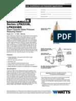 Series LFN223B, LFN223BS Specification Sheet