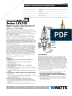 Series LFX65B Specification Sheet