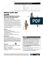 Series LL40 and LLL40 Specification Sheet