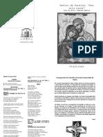 folleto Oraciones