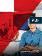 Higher degrees by research (HDR)  application guide