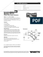 Series P777 Specification Sheet