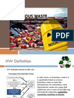Hazardous Waste Definition and Classification
