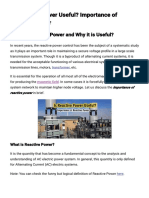 Is Reactive Power Useful_ Importance of Reactive Power