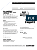 Series SS07F Specification Sheet
