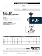 Series SW Specification Sheet