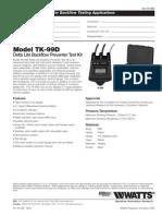 Model TK-99D Specification Sheet
