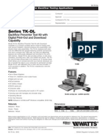 Series TK-DL Specification Sheet