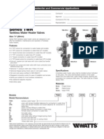 Series TWH Specification Sheet
