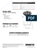 Series 656 Specification Sheet