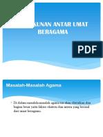 Inter Faith Dialogue