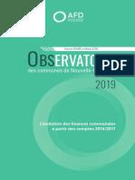 Observatoire Des Communes Nouvelle Caledonie 2019
