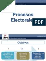 1. Procesos electorales