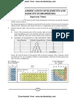 NEET UG Chemistry Classification of Elemsnts